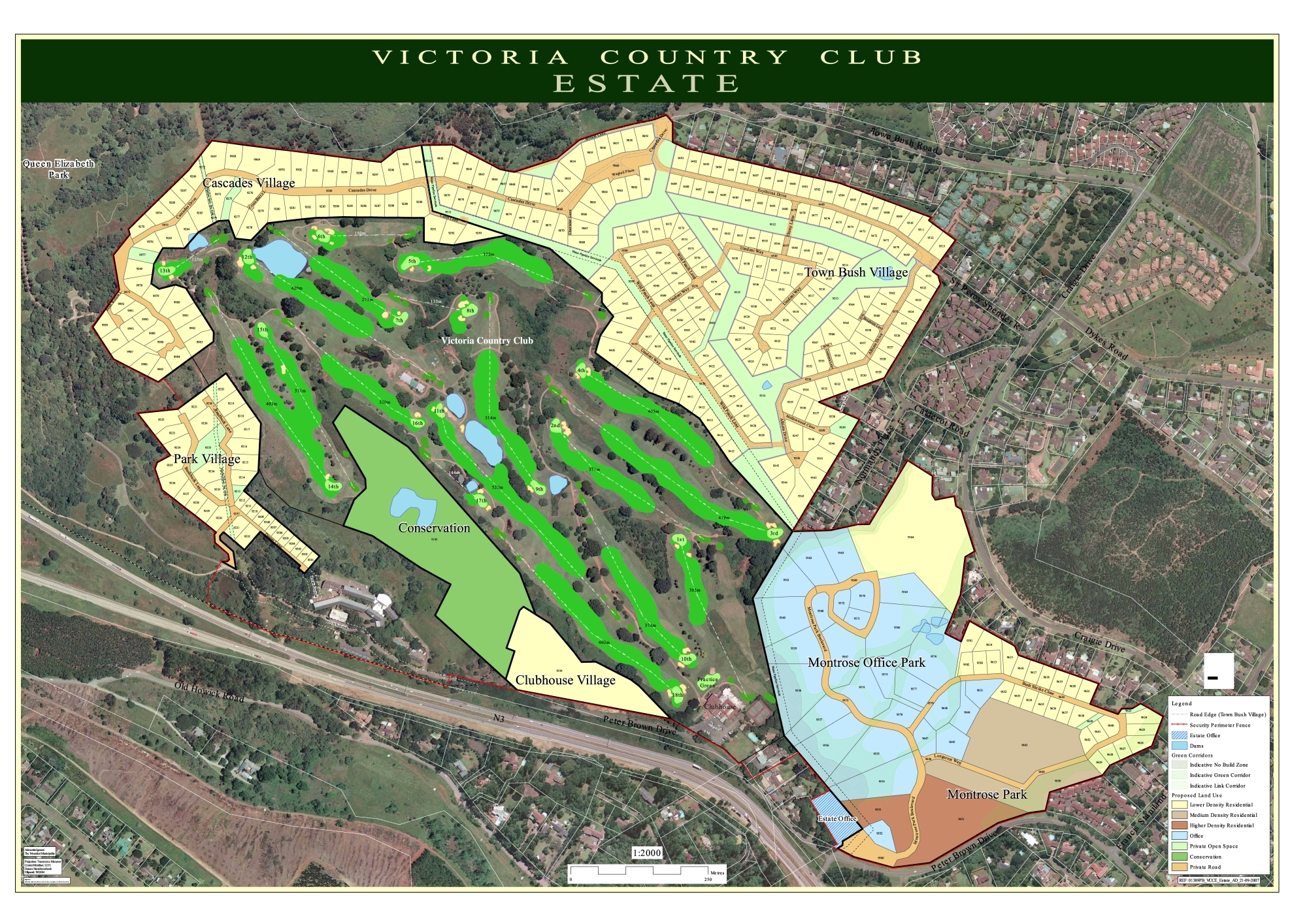 VCCE Estate Map 13082014