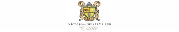 Victoria Country Club Estate Logo